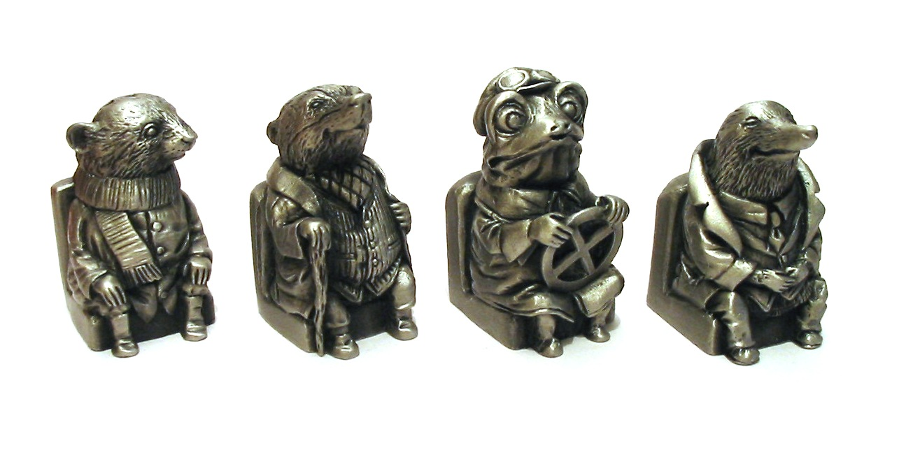 Wind In The Willows Thimble Set Pewter Collectable Gift