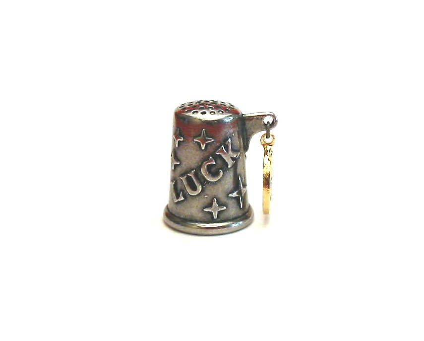 Horseshoe Thimble Good Luck Charm Collectible Thimble