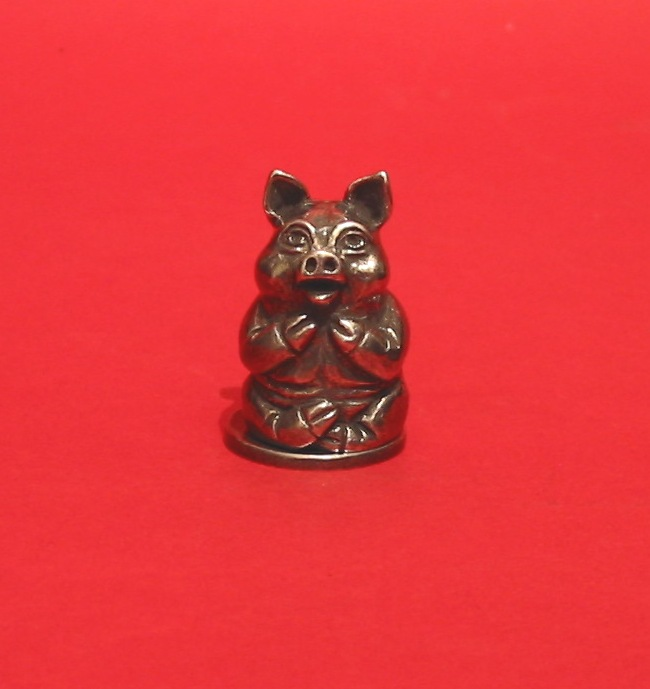Pig Russian Doll Thimbles Collectible Thimble Gift