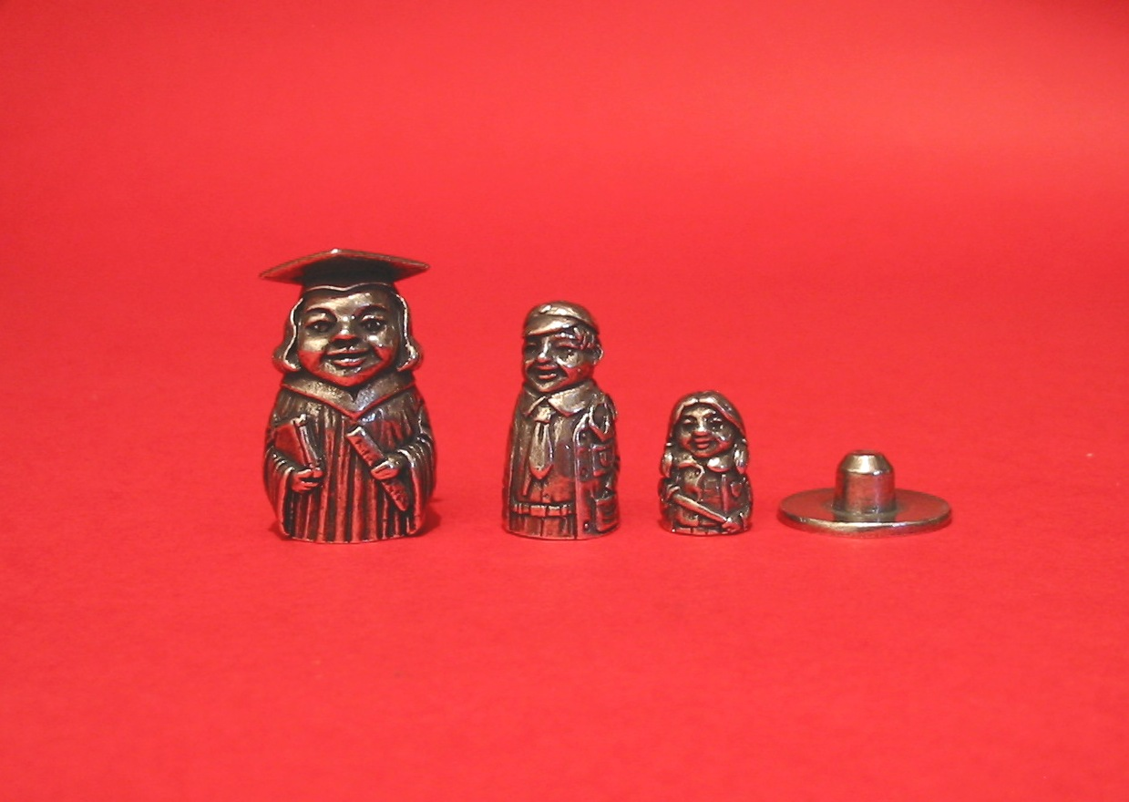 Teacher Russian Doll Thimbles Collectible Thimble Gift