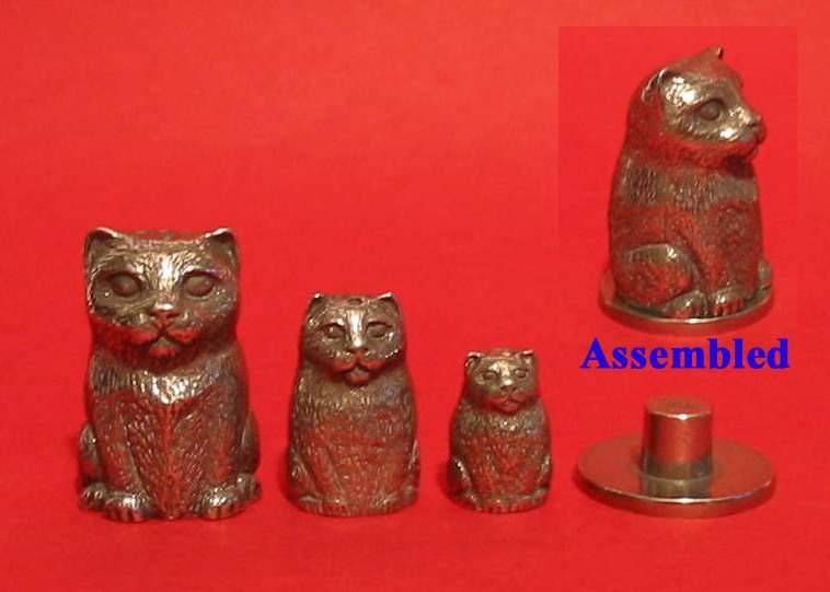 Cat Russian Doll Thimbles Super Collectible Thimble Gift