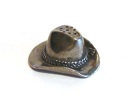 Country & Western Hat Thimble Collectibe Gift