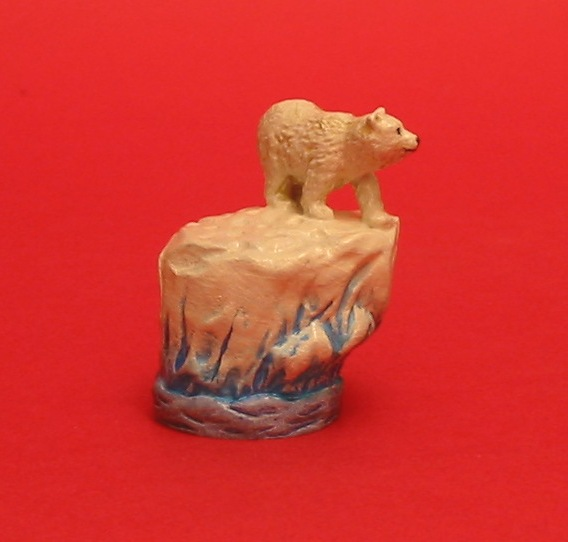 Polar Bear Thimble Pewter Collectable Thimble