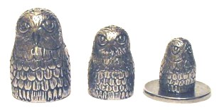 Owl Russian Doll Thimbles Collectable Thimble Gift