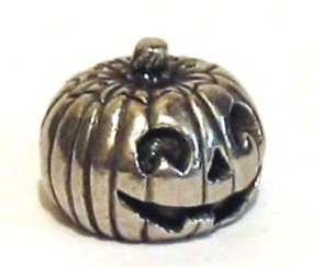 The Pewter Pumpkin Thimble Halloween Collectible Thimble Gift