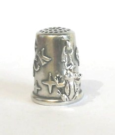 The Frog Silver Charm Collectible Thimble
