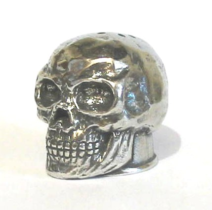 The Skull Thimble Pewter Collectable Thimble Gift