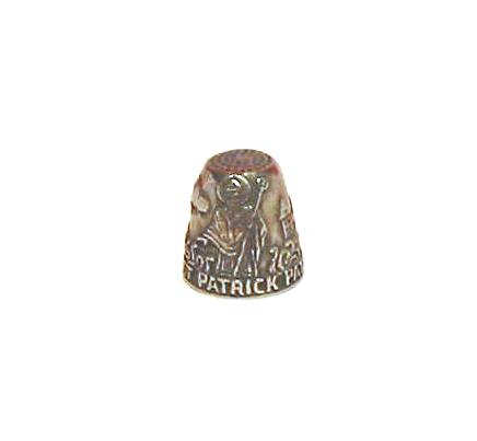 The St Partick Thimble Patron Saint Collectible Thimble