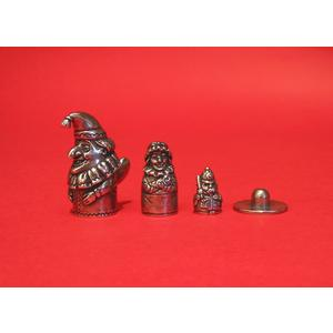Punch and Judy Russian Doll Thimbles Collectible Thimble Gift