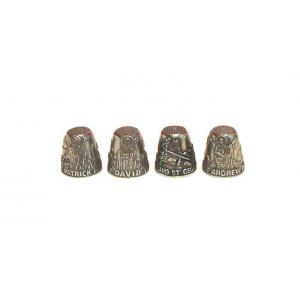 The Four Patron Saints of The United Kingdom Collectible Thimble