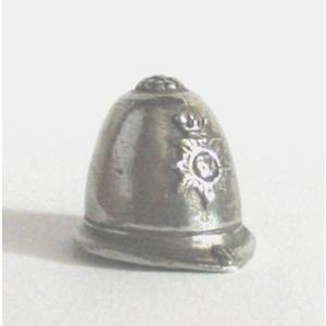 British Policemans Helmet Thimble Collectable