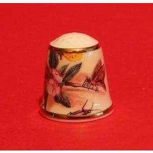 Jan Van Kessel ' Flowers & Insects' Collectible Thimble