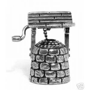 Garden Wishing Well Thimble Miniature Collectable Gift
